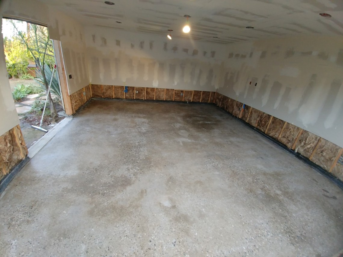 Polished Garage Floor Los Angeles