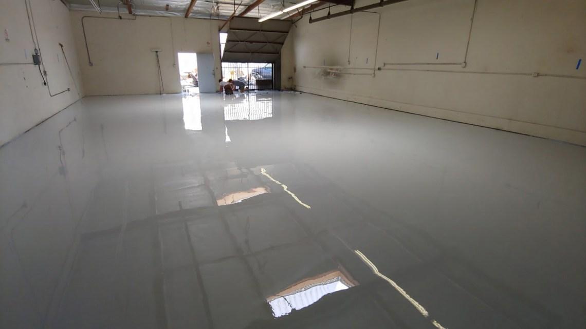 Epoxy Coating Industrial Warehouse