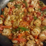 lobster and shrimp seafood stir fry