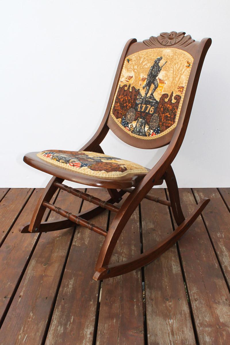 Bicentennial Rocking Chair  Its Still Life