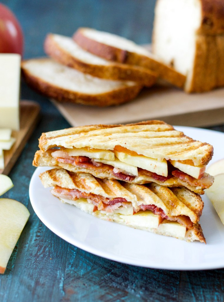 This Apple Bacon Cheddar Panini is sweet, salty and absolutely scrumptious! This combination will have you coming back for seconds.
