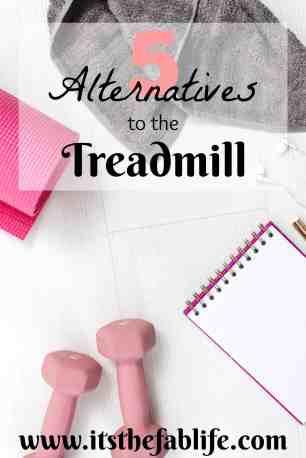 5 Alternatives to the Treadmill | Treadmill Alternatives | #cardio #treadmill #fitness