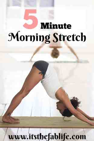 5 Minute Morning Stretch | Stretching Routine | #stretching #fitness #thefitlife