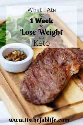 What I Ate for 1 Week to Lose Weight on Keto | Keto Diet | Eating Plan | Lose Weight | #keto #weightloss