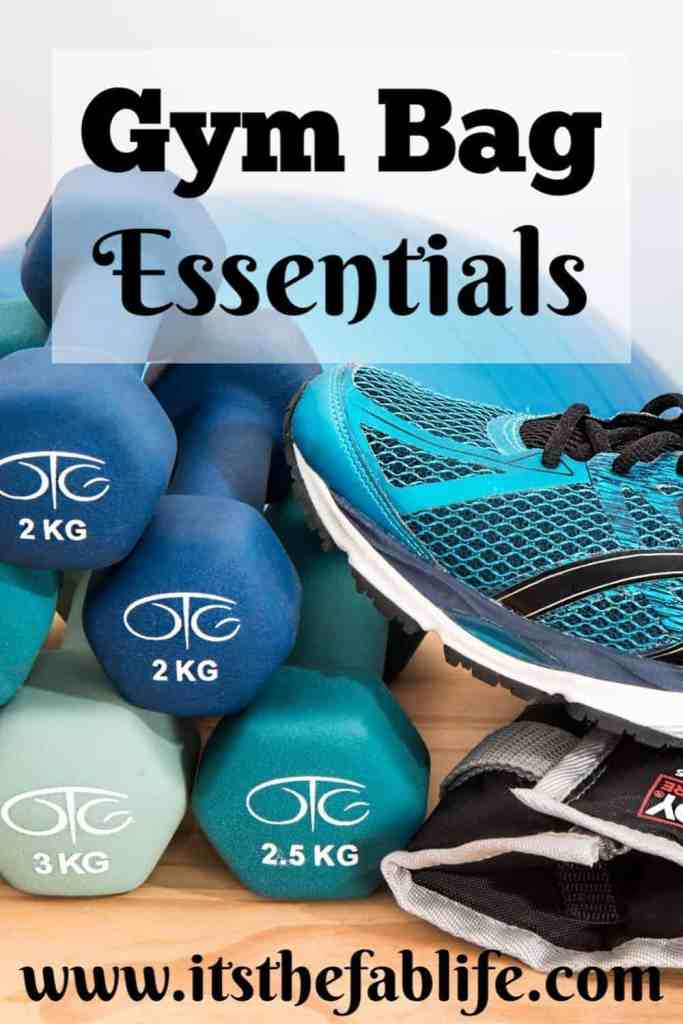 Gym Bag Essentials | What's in Your Gym Bag | What You Need at the Gym | #gymbag #gym #fitness #beauty
