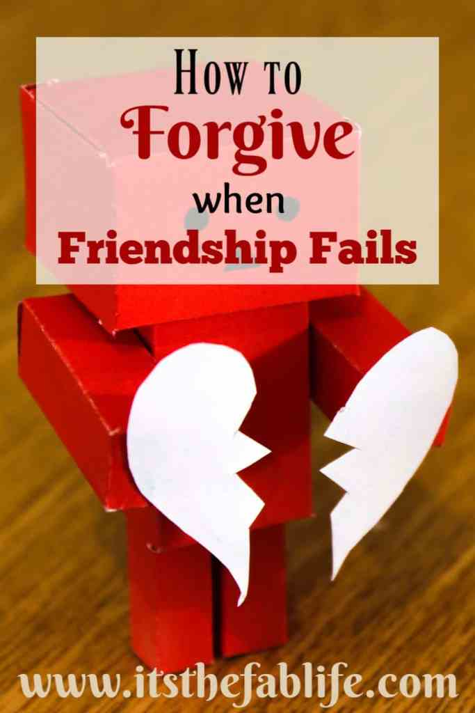 How to Forgive When a Friendship Fails | Finding Forgiveness | Letting Go of the Hurt | Moving On | #movingon #findingforgiveness #forgiving #forgiveness #pain #hurt #findingpeace