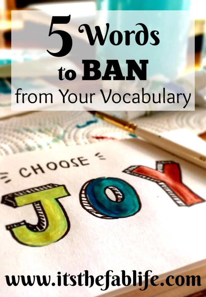 5 Words You Should Ban from Your Vocabulary | Phrases to Ban | Replace Negative Words | #negativity #positivity #vocabulary #thinkpositive