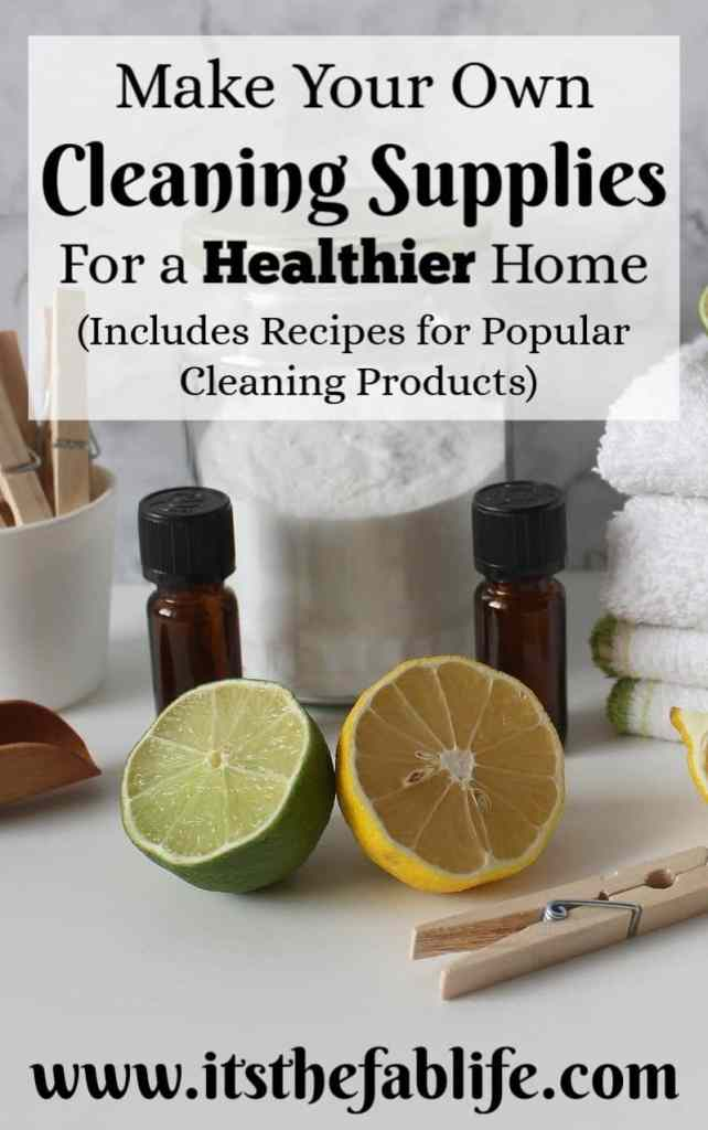Green Cleaning: Make Your Own Cleaning Products | DIY Cleaning Supplies | Homemade All-Purpose Cleaner | #diy #greencleaning #health