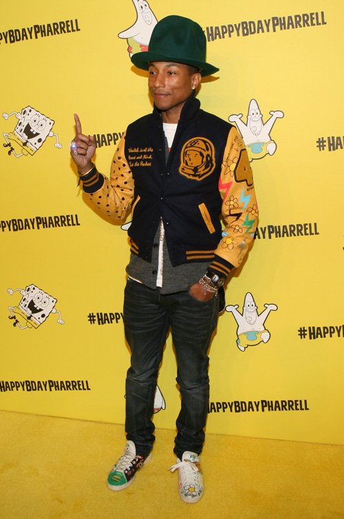 Spongebob Pantyhose : spongebob, pantyhose, Pharrell, Williams, SpongeBob, Themed, Birthday, Celebration!