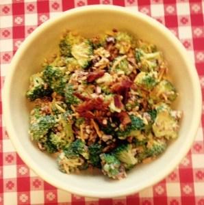 Broccoli Bacon & Cheese Salad