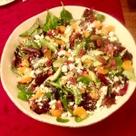 Orange Bacon and Pecan Salad