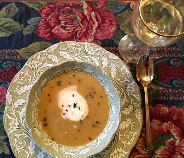 Pear Potato Soup