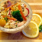 Lemony Chicken & Orzo Salad