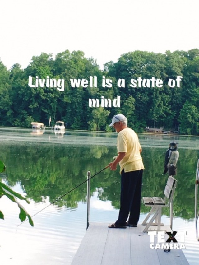 Living Well: a State of Mind