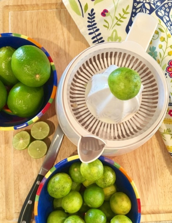 Key Limes for Margarita Pie