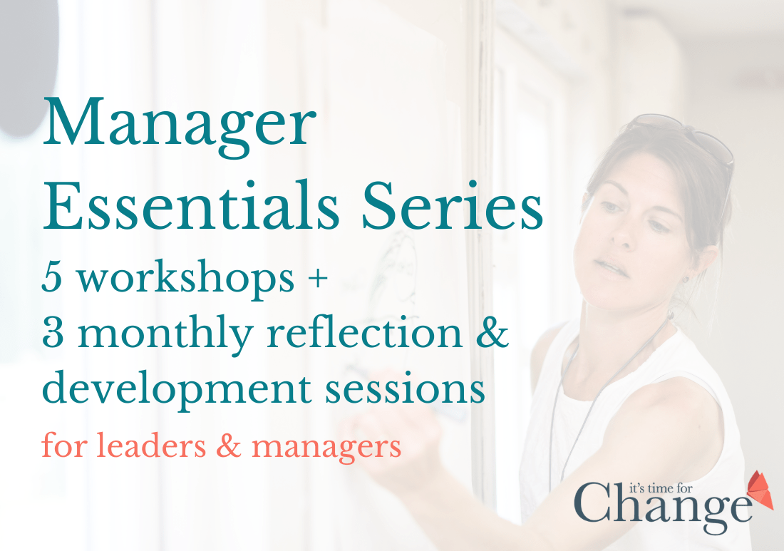 Manager Essentials Series