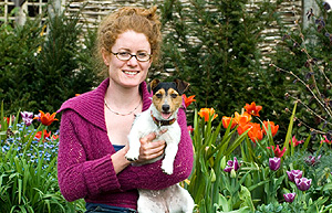Alys Fowler at Berryfields, Photo BBC