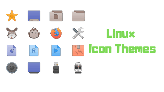 Icon Themes FOr Linux