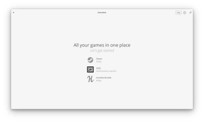 install gamehub in linux
