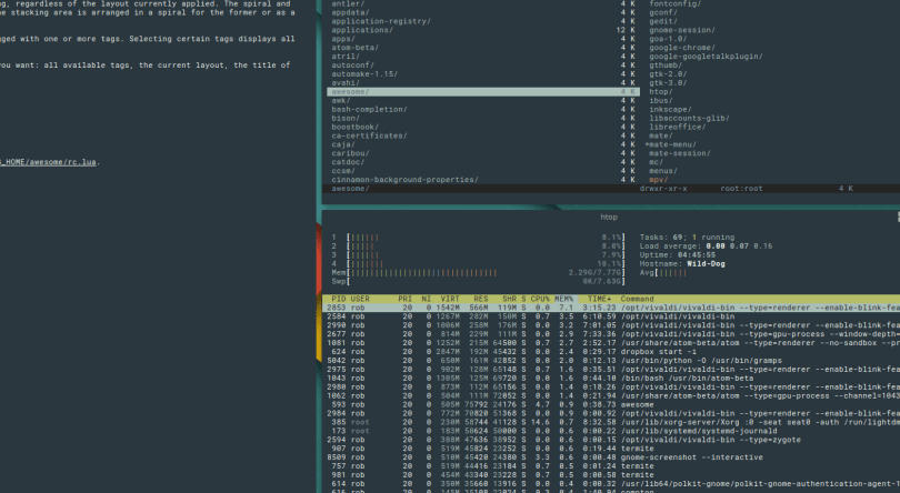 Which Is The Best Tiling Window Managers For Linux ?