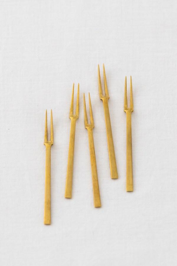 Azmaya_ Hime Forks_brass_top