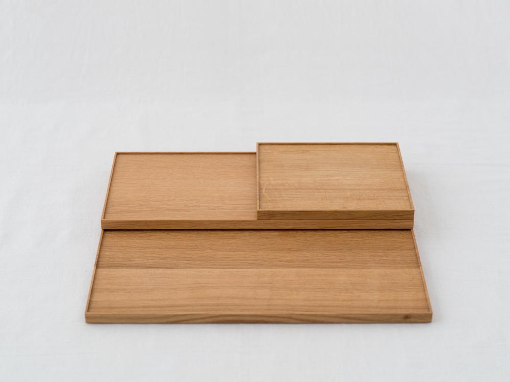 Azmaya_Oak Wooden Tray_dt-1