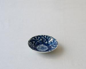 Arita Small Round Plate Flower