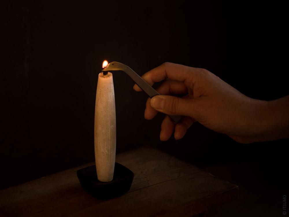 Takazawa Candle_Duck Candle Snuffer_Tohaku Candle_mood styling