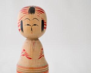 Vintage Kokeshi Doll - Saki