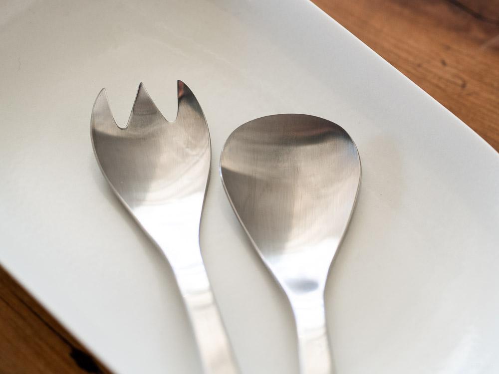 Sori Yanagi_Service Spoon & Fork