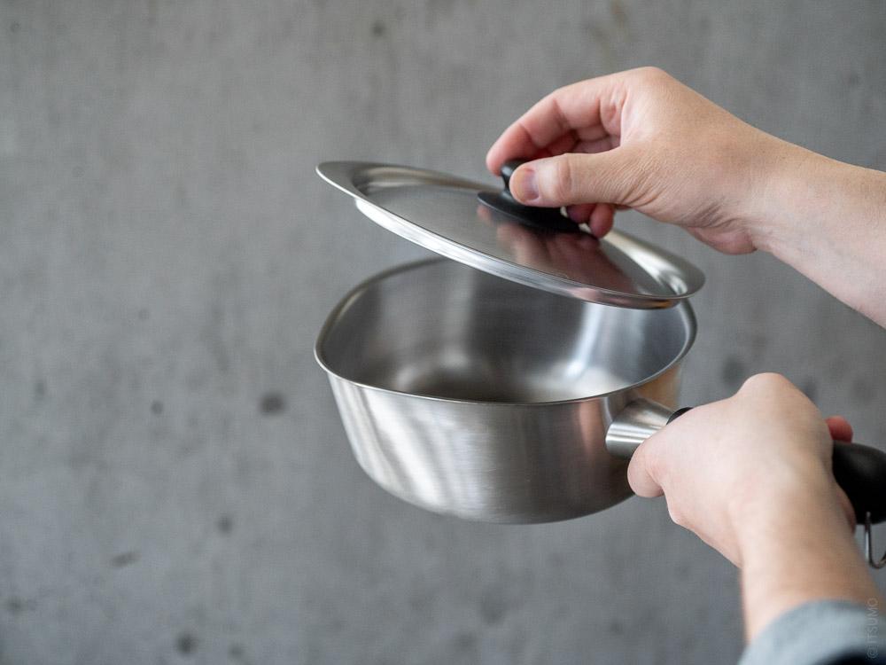 Sori Yanagi_Stainless One Hand Pot