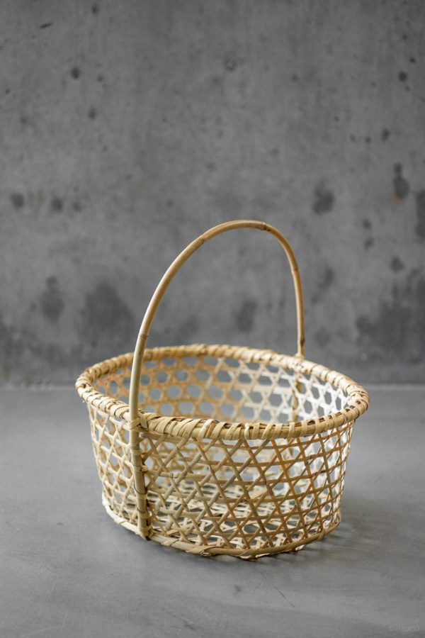 Bamboo Apple Basket_top