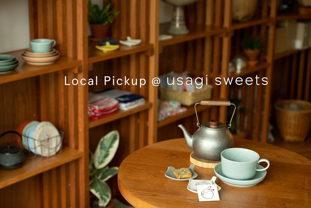 LOCAL PICKUP at USAGI SWEETS