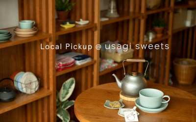 LOCAL PICKUP at USAGI SWEETS