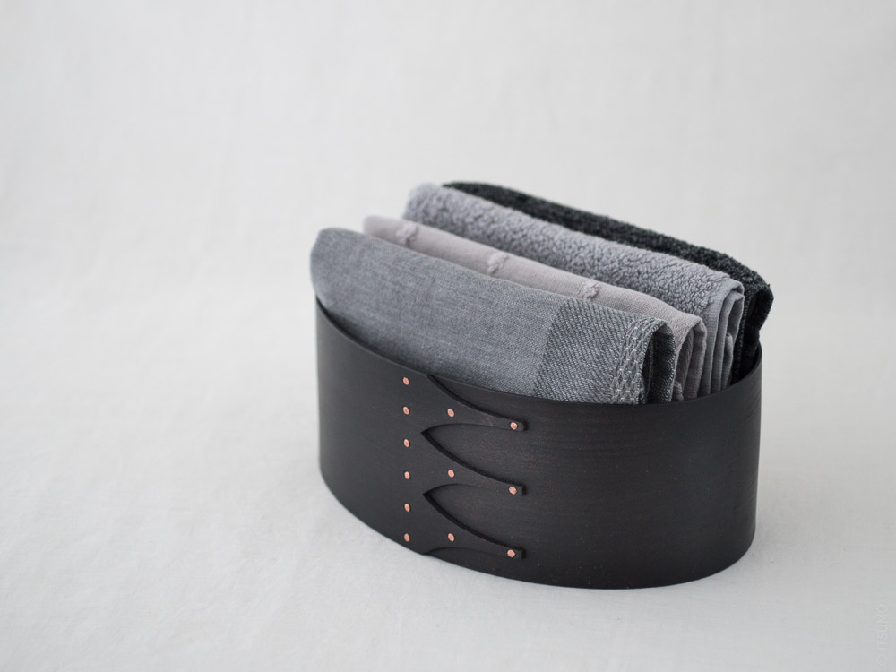 Masashi Ifuji_Oval Box_Vege-Dyed Black