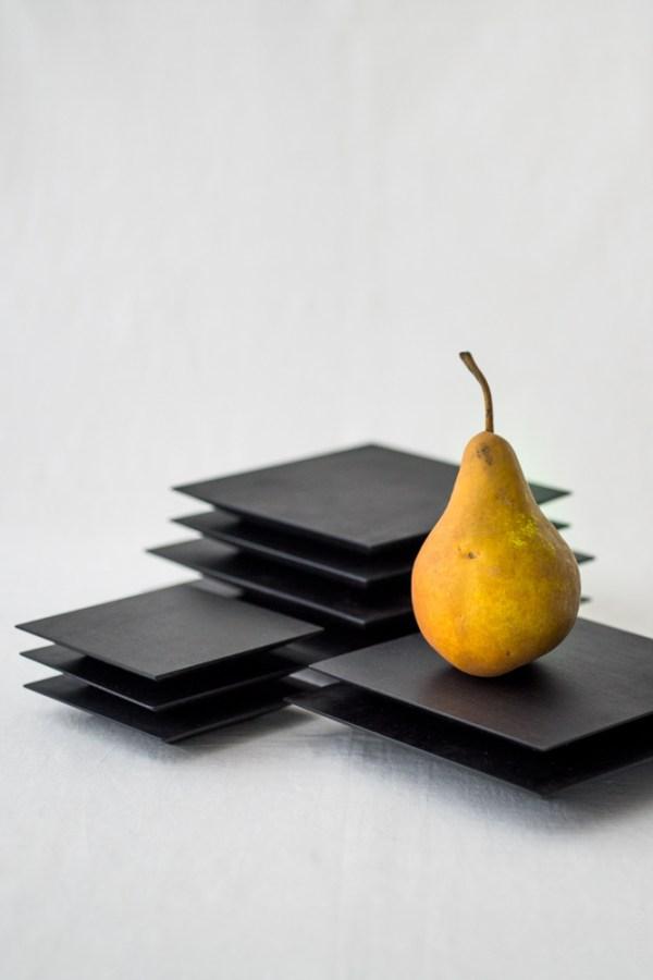 Masashi Ifuji_Square Plate_black