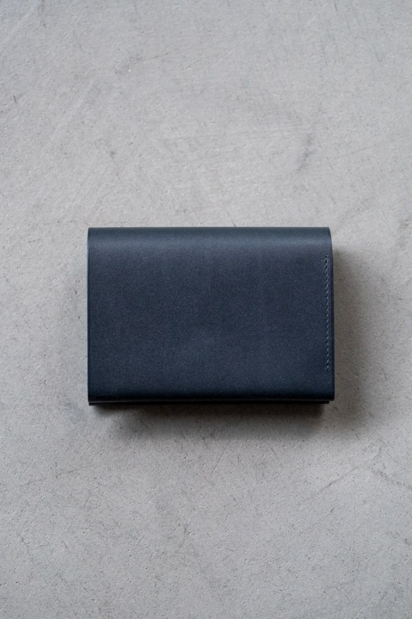 Postalco_Card & Coin Wallet_navy_top