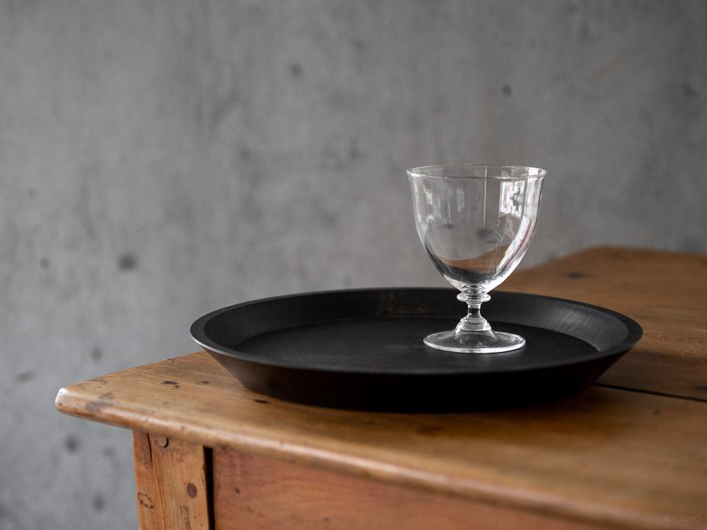 Masashi Ifuji Round Tray - Veg-dyed Black