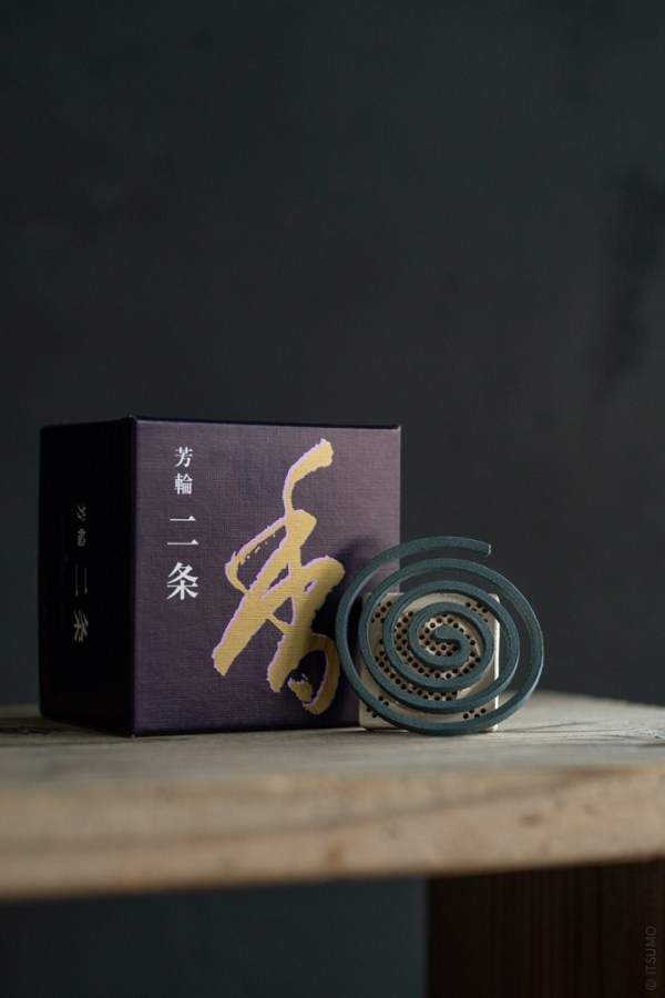 Shoyeido_Horin Incense Coil_Nijo_Avenue of the Villa_top