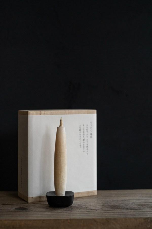 Takazawa Candle_Tohaku Candle_Gift Set_M_top