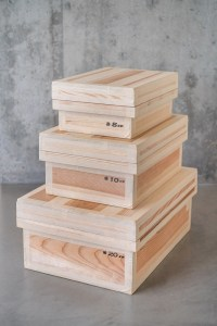 Azmaya_Cedar Tea Storage Box_flat_top