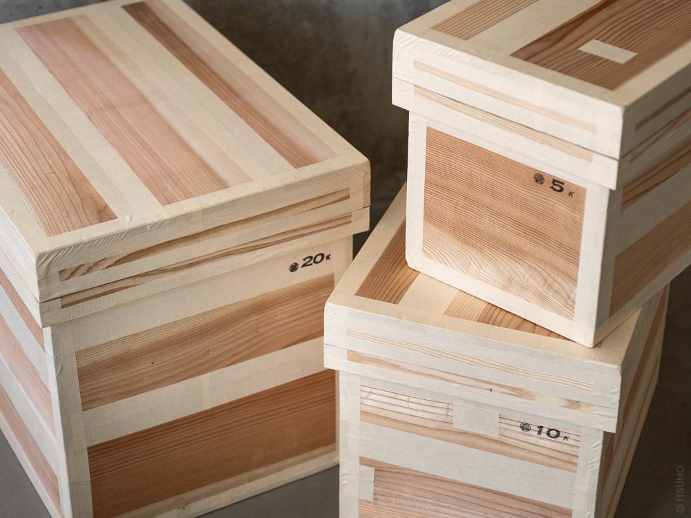 Azmaya_Cedar Tea Storage Box_tall