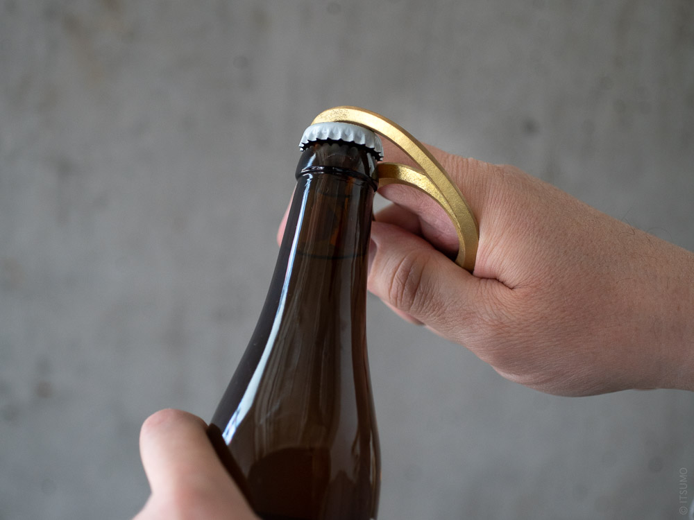 FUTAGAMI_Brass Bottle Opener_Eclipse