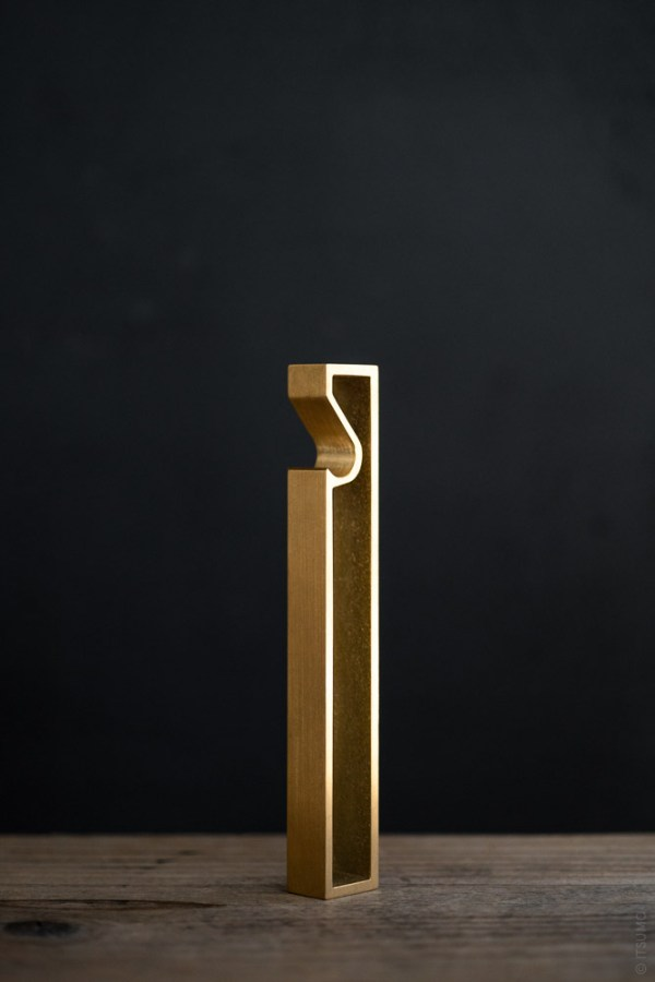 FUTAGAMI_Brass Bottle Opener_Frame_top