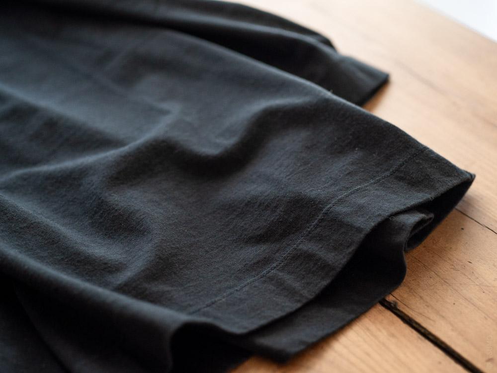 Homspun_3/4 Sleeve T-shirt_black