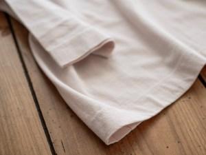 Homspun_3/4 Sleeve T-shirt_light pink_dl