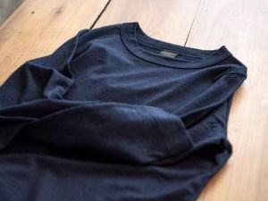 Homspun_Long Sleeve T-shirt_dark indigo_dl