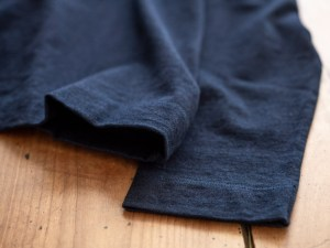 Homspun_Long Sleeve T-shirt_dark indigo_dl