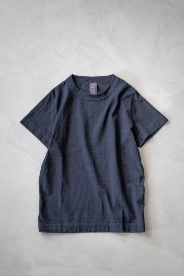 Homspun_Short Sleeve T-shirt_dark indigo_top