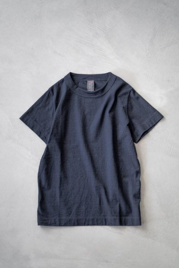 Homspun_Short Sleeve T-shirt_dark indigo_top